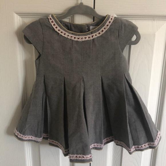 Tahari Other - Tahari 3-6 month short sleeve baby dress